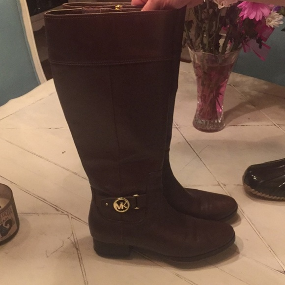 Michael Kors Wide Calf Boots Size 1